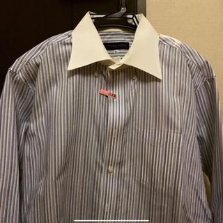 ダーバン(D'URBAN)の日曜割 美品 DURBAN BD シャツ ストライプ LL クリーニング済(シャツ)