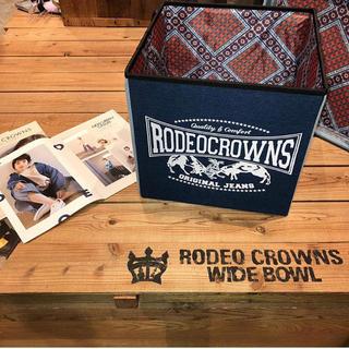 ロデオクラウンズワイドボウル(RODEO CROWNS WIDE BOWL)のロデオ ノベルティ フタ付きボックス(ケース/ボックス)
