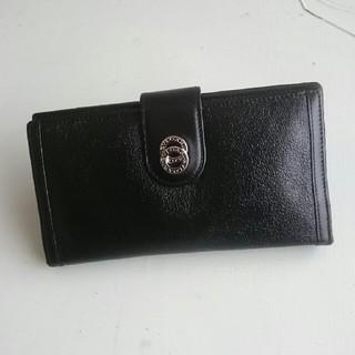 ブルガリ(BVLGARI)のBVLGARIレザー二つ降り長財布(長財布)
