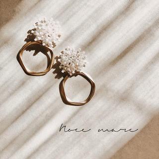 -pearl ring- 再販しました✳︎(ピアス)