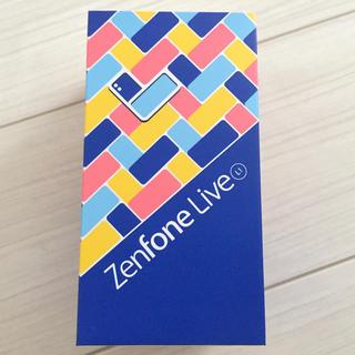 エイスース(ASUS)の新品未開封 ASUS ZenFone Live ZA550KL シマーゴールド(スマートフォン本体)