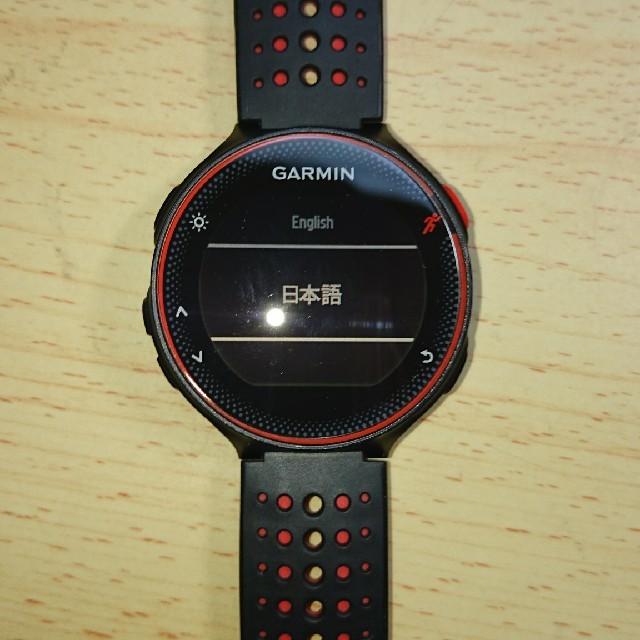 GARMIN(ガーミン)のgarmin235j 液晶フィルム付き チケットのスポーツ(ランニング/ジョギング)の商品写真