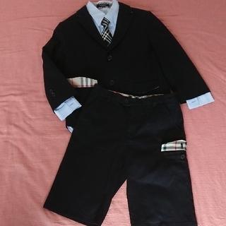 バーバリー(BURBERRY)の【美品】BURBERRY セットアップ スーツ size:130(ドレス/フォーマル)