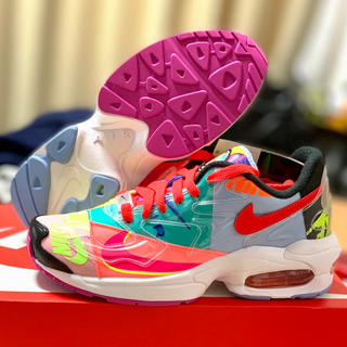 ナイキ(NIKE)の23cm Nike Air Max2 Light QS atmos con (スニーカー)