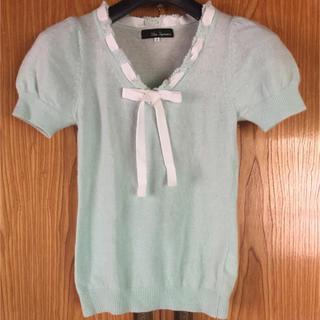クリアインプレッション(CLEAR IMPRESSION)のクリアインプレションの半袖ニット(カットソー(半袖/袖なし))