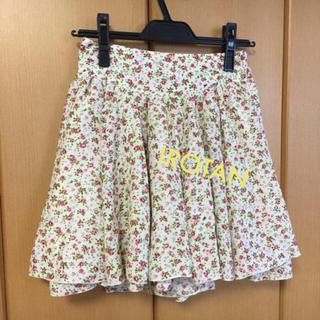 ローリーズファーム(LOWRYS FARM)のLOWRYSFARM 美品 花柄スカート(ミニスカート)