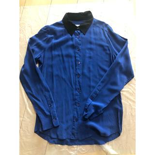 エキプモン(Equipment)のエキプモンのシルクシャツ(シャツ/ブラウス(長袖/七分))