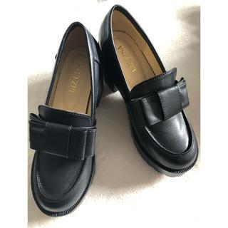リズリサ(LIZ LISA)のLIZ LISA厚底ローファー(ローファー/革靴)