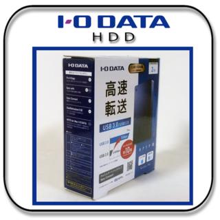 【新品】 アイ・オー・データ ポータブル HDD 2TB ミレニアム群青(PC周辺機器)