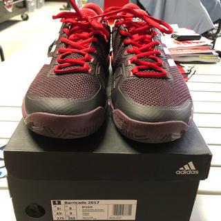 アディダス(adidas)のadidas barricade2017 BY1624(シューズ)