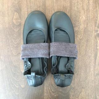 ムジルシリョウヒン(MUJI (無印良品))の🌸無印良品フラットシューズ送料込🌸(ローファー/革靴)