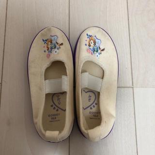 ディズニー(Disney)の黄ばみ汚れあり プリンセス ソフィア 上履き 16cm(スクールシューズ/上履き)
