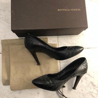 ボッテガヴェネタ(Bottega Veneta)のボッテガ パンプス 黒 36(ハイヒール/パンプス)