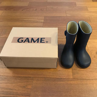 ズーム(Zoom)の【新品・未使用】GAME  レインブーツ 16㎝(長靴/レインシューズ)