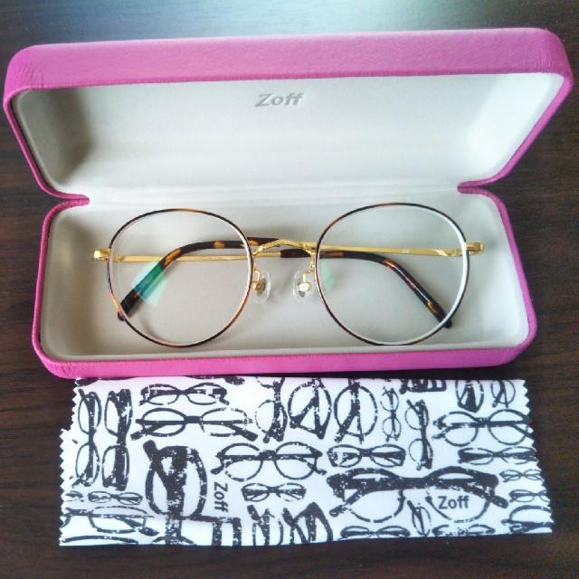 Zoff(ゾフ)のpinky2様専用 ゾフ メガネ レディースのファッション小物(サングラス/メガネ)の商品写真