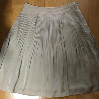 アマカ(AMACA)のアマカ サイズ40 春 フレアプリーツ(ひざ丈スカート)