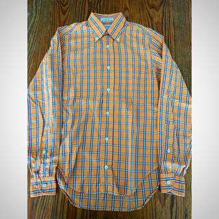 インディヴィジュアライズドシャツ(INDIVIDUALIZED SHIRTS)のINDIVIDUALIZED SHIRTS BDシャツ オレンジ(シャツ)