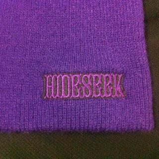 ハイドアンドシーク(HIDE AND SEEK)のハイドアンドシーク ・ニット帽(ニット帽/ビーニー)