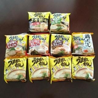 ハウスショクヒン(ハウス食品)の即席ラーメン「うまかっちゃん」10食(インスタント食品)