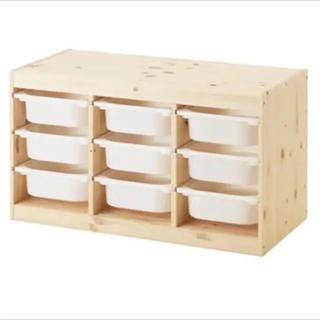 イケア(IKEA)の【クーポン祭】【新品】『IKEA トロファスト ♡』(収納/チェスト)