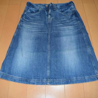 ドミンゴ(D.M.G.)のDMG デニムスカート(ひざ丈スカート)