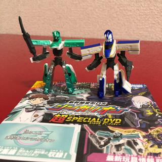 タカラトミー(Takara Tomy)のシンカリオン  ガチャガチャとDVDセット(ゲームキャラクター)