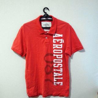 エアロポステール(AEROPOSTALE)のaeropostale/エアロポステール ポロシャツL 赤!(ポロシャツ)
