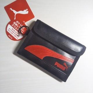 92adbf16e939 PUMA - PUMA プーマ レザースリムウォレット 財布 ブラック 新品