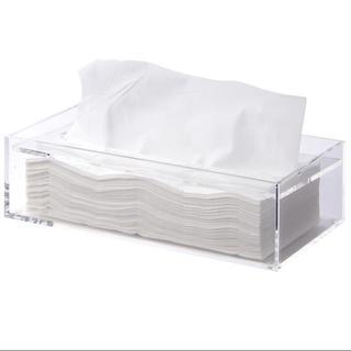 ムジルシリョウヒン(MUJI (無印良品))の無印良品 アクリルティッシュボックス(ティッシュボックス)