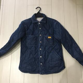 ネイタルデザイン(NATAL DESIGN)のnatal design キルテッドシャツ sサイズ(Gジャン/デニムジャケット)
