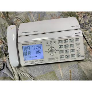 パナソニック(Panasonic)のパナソニック・普通紙FAX!モデル・KX-PW521-W!(OA機器)