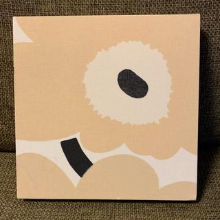 マリメッコ(marimekko)のマリメッコ  正規店 ファブリックボード ウニッコ ベージュ(ファブリック)