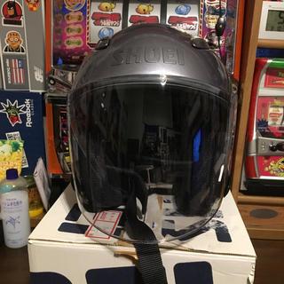 ショウエイシャ(翔泳社)のSHOEI ショウエイ  ジェットヘルメット パープルグレーメタリック(ヘルメット/シールド)