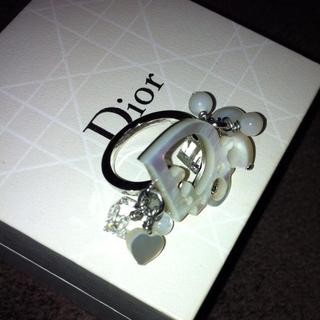 ディオール(Dior)のDior Whiteシェル☆リング(リング(指輪))