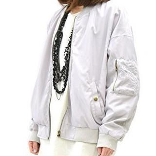 アンドイット(and it_)の春服  MA-1 ブルゾン オーバーサイズのMA-1(ブルゾン)