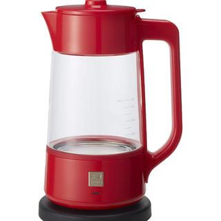 フランフラン(Francfranc)のBRUNO コーヒーポット レッド Francfranc(コーヒーメーカー)