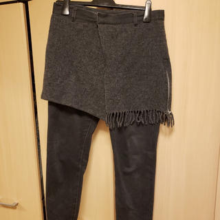 ディスカバード(DISCOVERED)のDiscovered  ボトム 2 コットン Gry 無地 スカート パンツ(その他)