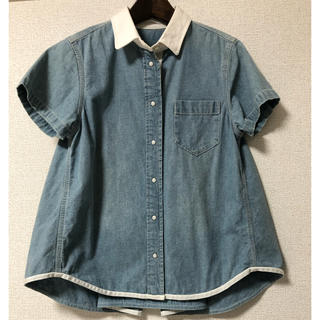 サカイラック(sacai luck)のsacai luck デニムシャツ(シャツ/ブラウス(半袖/袖なし))