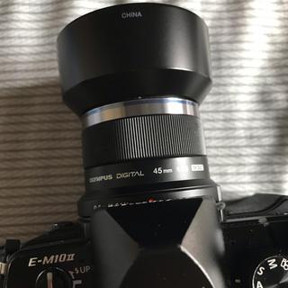 オリンパス(OLYMPUS)のzuiko 45mm 単焦点 olympus コメント無購入OK(レンズ(単焦点))