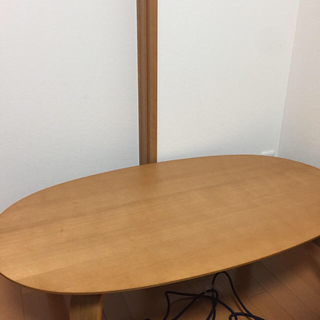 ムジルシリョウヒン(MUJI (無印良品))の佐川ラージ便 着払い 無印良品 楕円型こたつ(こたつ)