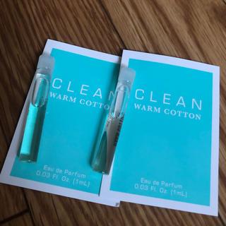 クリーン(CLEAN)のクリーン ウォームコットン 1ml 2個セット 新品(ユニセックス)