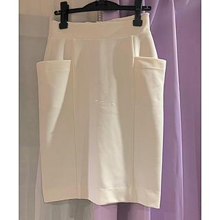 カプリシューレマージュ(CAPRICIEUX LE'MAGE)のストレッチタイトスカート(ひざ丈スカート)