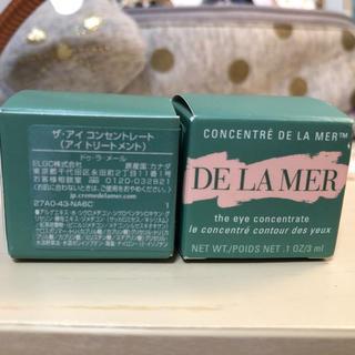 ドゥラメール(DE LA MER)のDE LA MER アイコンセントレート 3ml*2個セット(アイケア / アイクリーム)