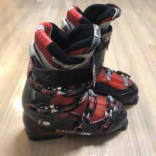 サロモン(SALOMON)ののっぷりさん専用 SALOMON スキーブーツ 28.5 ケース付き(ブーツ)