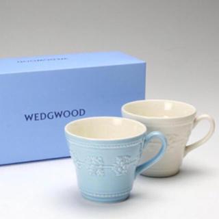ウェッジウッド ペアマグカップ