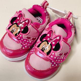 ディズニー(Disney)のミニー♡スニーカー14cm(スニーカー)