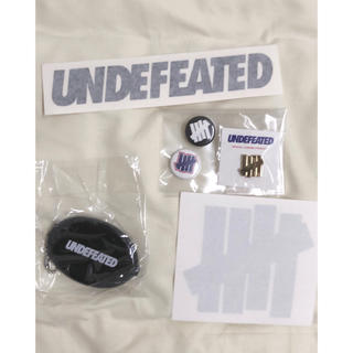 UNDEFEATED - UNDEFEATED ステッカー ピンバッジ コインケース