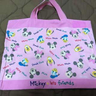 ディズニー(Disney)の布袋(レッスンバッグ)