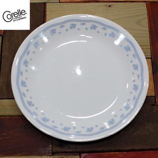 コレール(CORELLE)の名品!【Corelle】モーニングブルー平皿7枚 送料込(食器)