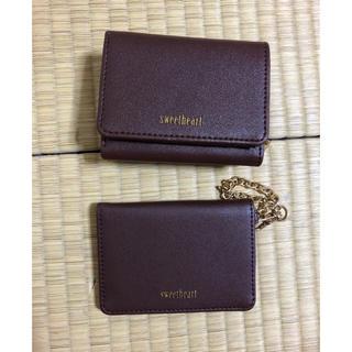 シマムラ(しまむら)の新品☆2点セット☆ブラウン☆しまむら(財布)